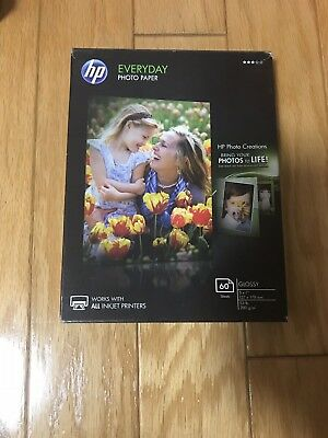 HP Photo Paper, Everyday Glossy, (5x7 inch)