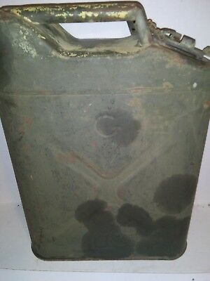 Vintage Military Gerry Jerry Gas Can G USA 5gal