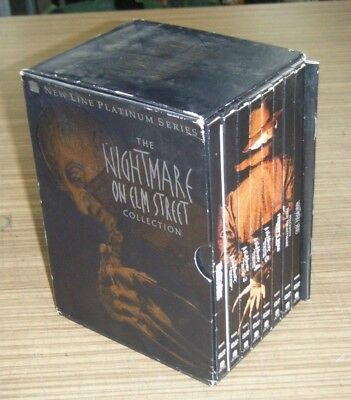 Pre Owned DVD - The Nightmare on Elm Street Collection