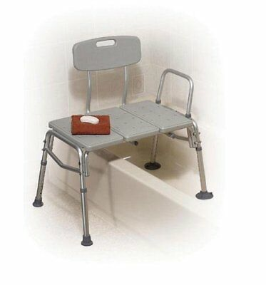 Transfer Bench Plastic (Drive) 3-Section and Backrest-Gray…$115.00