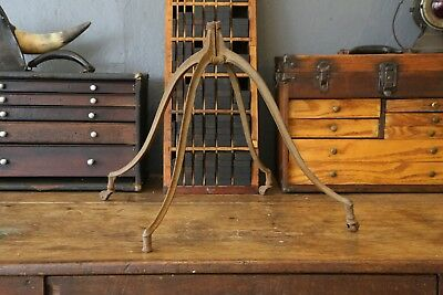 Antique Vtg 1880s Cast Iron Dictionary Bible Book Stand industrial spider legs