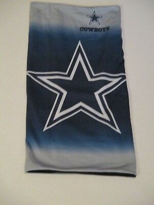 5787c9d5c Pull Over Nfl Dallas Cowboys Fleece Lined Scarf Soft Able To Wear 3 Ways  New !