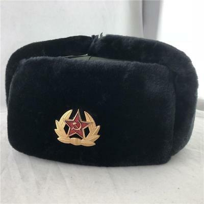 d698ec0ba697c USHANKA MILITARY WINTER Hat Soldier Russian Army Soviet Cap Warrior ...