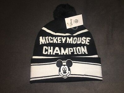 1abdcc5f3 NEFF BEANIE MICKEY Mouse Champion Hat Knit Disney Collection Winter One Size