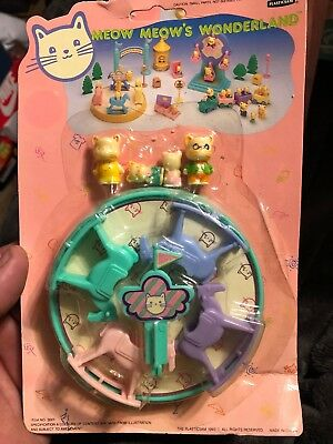 Vintage 1993 Meow Meow's Wonderland New In Box