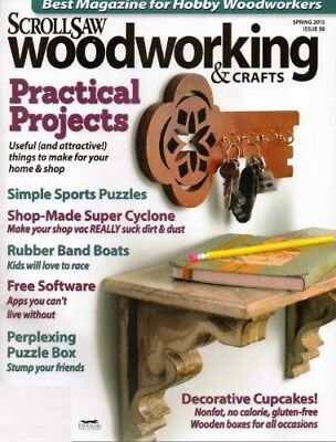 Scrollsaw Woodworking Magazine Collection Dvd-Rom