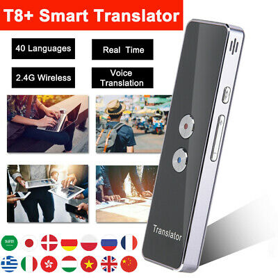 Portable Smart Voice Translator Real Time Instant 40 Languages Photo Translation