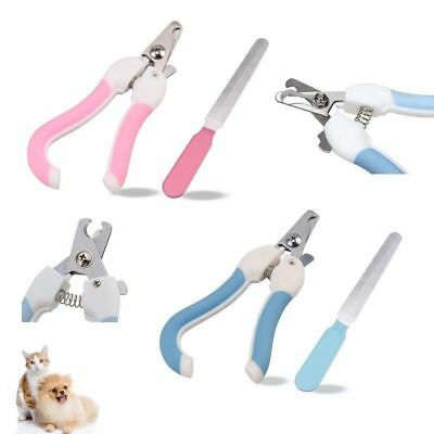 Pet Dog Cat Nail Paw Claw Clippers Scissors, For Small- Medium-Large Animals UK