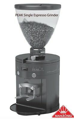 Mahlkonig Peak Black Espresso Coffee Machine Grinder Professional Barista Cafe