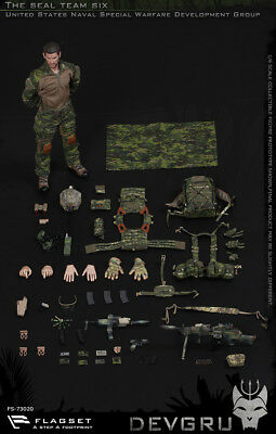 FLAGSET FS-73020 1/6th Scale DEVGRU US seals 6 team Action Figure New