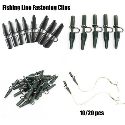 10/20x Safety Lead Clips For Fishing Carp Winter Ice Fish Tackle Equipment Line