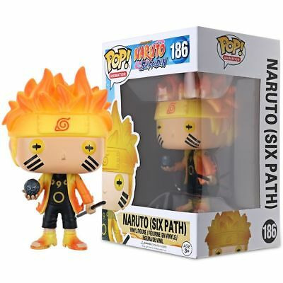 Funko POP Naruto Six Path #186 Sage Mode #185 Action Vinyl Figure Toy New In Box