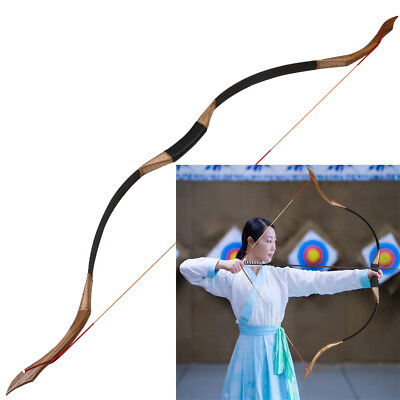 30-50lbs Traditional Recurve Bow Longbow Right Left Hand Archery Hunting Target