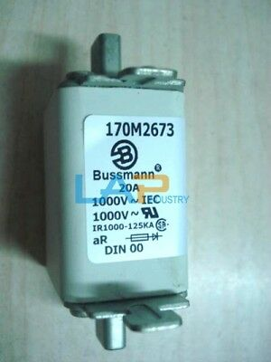 1PC NEW For Bussmann 170M2673 Fuse 20A 1000V #ZMI