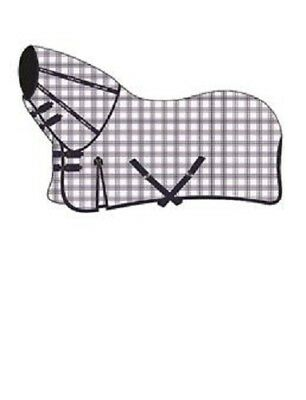 Mark Todd Horse Pony  Comprehensive Combo Rug | White Navy Gingham | 5ft 6