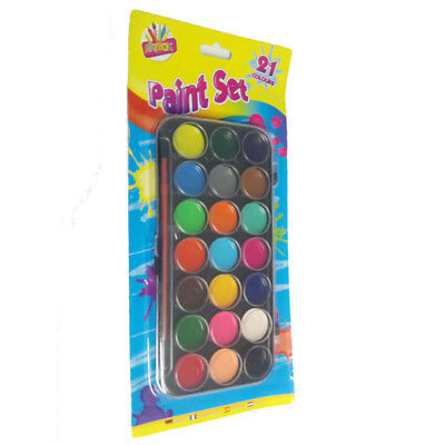 Childrens Paint Set Painting Pallets Water Coloured