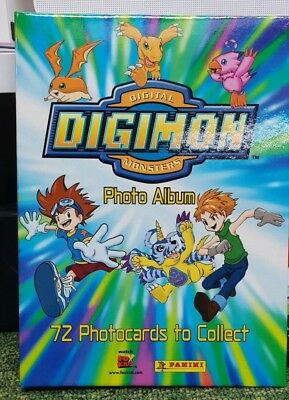 Digimon Collector Card Photo Album New From Panini 2000
