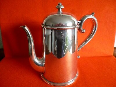 30 Day Sale - A Quality Vintage Silver Plate Coffee Serving Pot