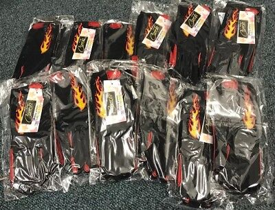 Equestrian Joblot (GF12) Carrots' Riding Gloves, Childs One Size,flame , BNWT