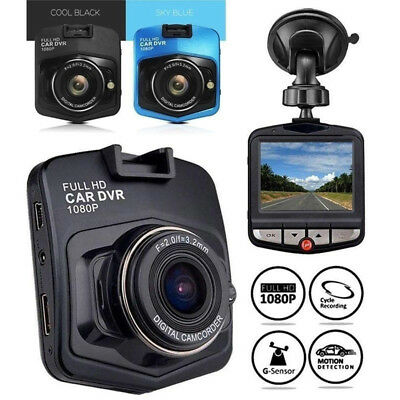 """HD 1080P 2.2"""" 2.4"""" LCD Car DVR Driving Recorder Camera Suppord to 4/8/16/32G"""