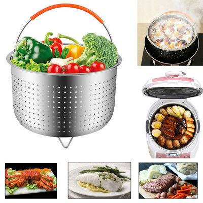 Stainless Steel Steamer Basket Instant Pot 6/8 Quart Pressure Cooker Accessories