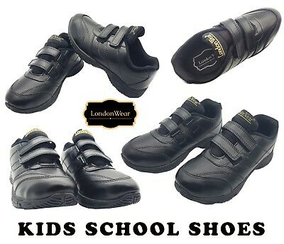 KICKERS Adlar stralo Kids Cuir vstraps BACK TO SCHOOL Chaussures Taille UK