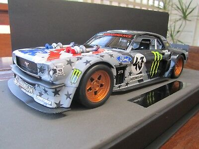 1 18 Ken Block Ford Mustang Hoonigan Rtr Top Marques Collectibles