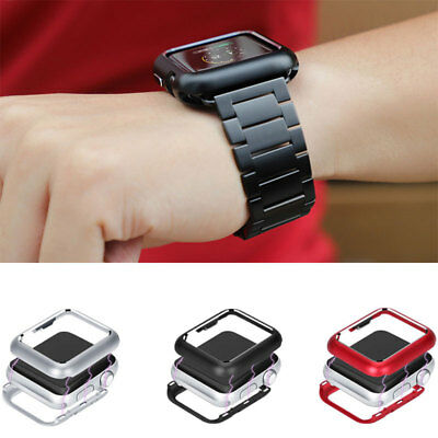 Magnetic Metal Case Cover For Apple Watch iWatch 4 3 2 40/44mm 38/42mm Protector