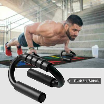 Push Up Bars Foam Handles Press Pull Up Stand Home Exercise Workout Gym Chest