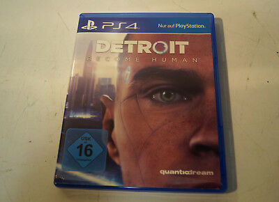 DETROIT BECOME HUMAN- PS4 Playstaion 4- Gebraucht