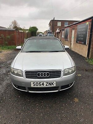 Audi A4 V6 3.0L Convertible  spares or repair