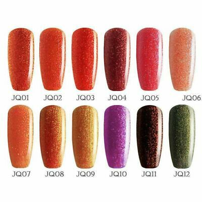 Bluesky JQ GLITTER UV/LED Soak Off Nail Polish Gel Polish Free Postage 10ml