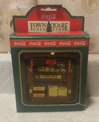 Coca Cola Town Square Newsstand #64313 MIB