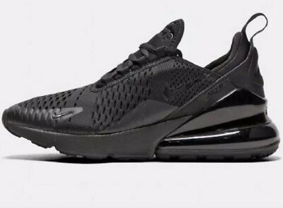 sports shoes c4da1 a324c NIKE JUNIOR AIR Max 270 BG Trainer | Black / Black Trainers Size UK 6