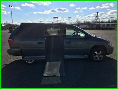 2007 Dodge Grand Caravan SXT VAN WHEELCHAIR HANDICAP TRANSFER SEAT HAND CONTROL VMI 2007 SXT Used 3.8L V6