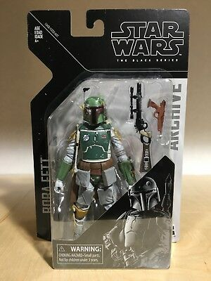 Star Wars Black Series 6 Inch Wave 1 Archive Collection Bobba Fett In Stock!