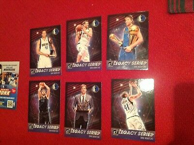 2018-19 Panini direct Basketball Dirk Nowitzki Lot of 6 card new
