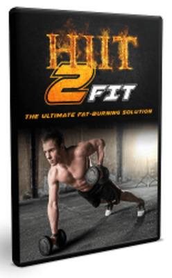 HIIT 2 Fit Video Upgrade Pack training  2018 on dvd -rom