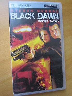 PSP UMD Video - black dawn - dernier recours - français - film action Seagal