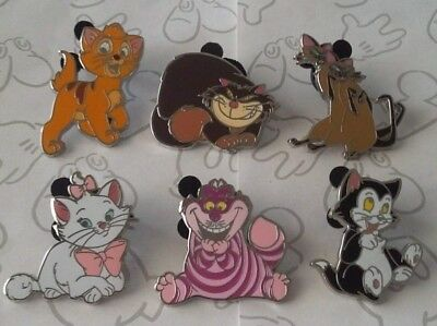 Disney Cats Booster 2015 Kitten Disney Pin Make a Set Lot