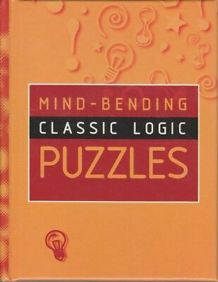 Mind-Bending Classic Logic Puzzles Lagoon Books small hardcover good condition