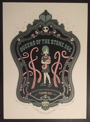 Queens of the Stone Age Poster Tara McPherson  2005