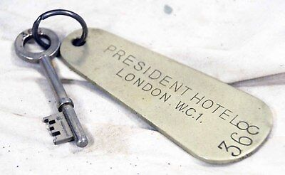 Vintage President Hotel - London Room Key #368