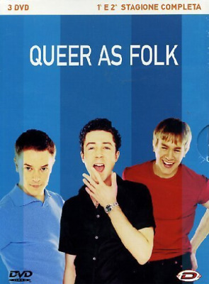 Queer As Folk - Stagione 01 & 02 (3 Dvd) (UK IMPORT) DVD NEW