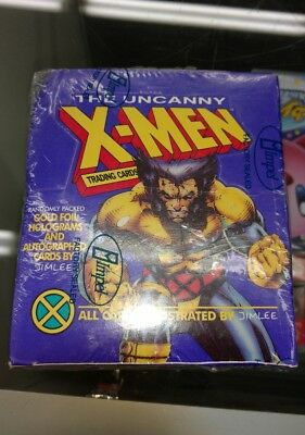 1992 The Uncanny X-Men Trading Cards by Jim Lee Factory Sealed Impel Box