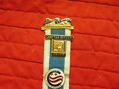 13 Inch Long Dar  Medal Named And Numbered With 8 Attachments Dar