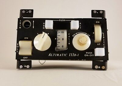 Altimatic IIIB-1 Autopilot Control
