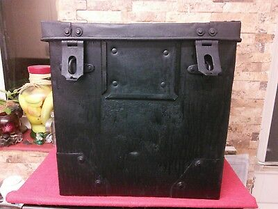 Antique Strong Metal Box