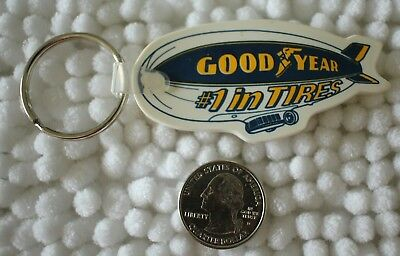 Goodyear Tires #1 West Bend Wisconsin Blimp Keychain Key Ring #29242