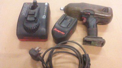 snap on nut gun,battery,charger.